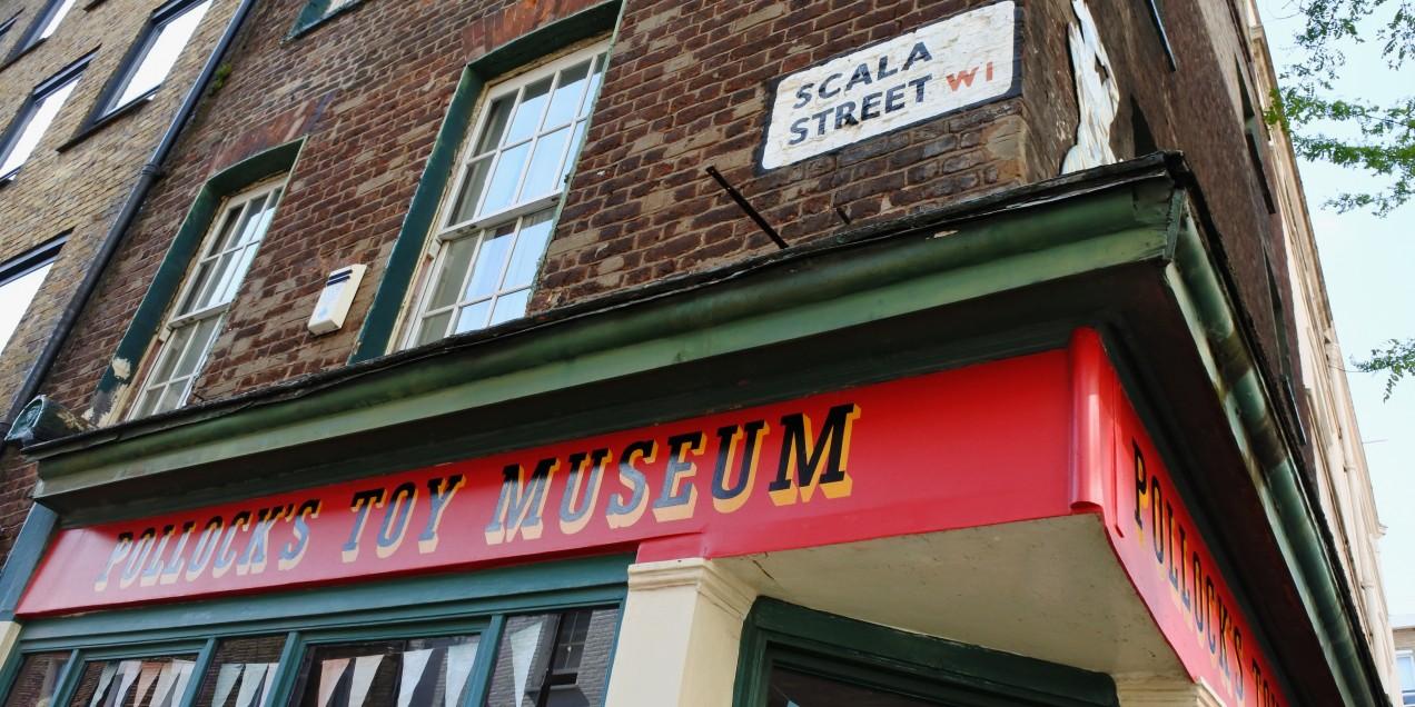 Pollock's Toy Museum, Scala Street 1 W1T 2HL London United Kingdom
